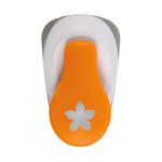 Fiskars - Lever Punch - Small - .75 Inch Flower