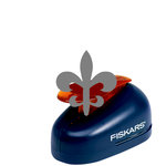 Fiskars - Lever Punch - Medium - One Inch Fleur de Lis