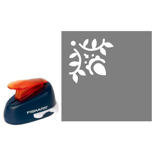 Fiskars - Decorative Corner Lever Punch - Budding Flower, CLEARANCE