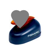 Fiskars - Lever Punch - Extra Large - Two Inch Heart, CLEARANCE