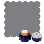 Fiskars - Everywhere Punch Window System - Scalloped Square Cartridge