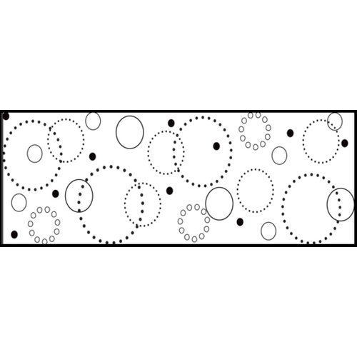 Fiskars - Continuous Stamp - Clear Acrylic Stamps - Circle of Fun