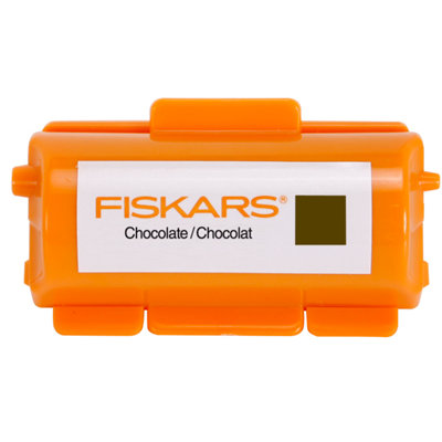Fiskars - Continuous Stamp - Pigment Ink Cartridge - Chocolate