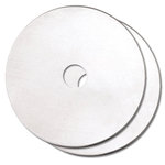 Fiskars - Rotary Titanium Replacement Blades - 2 Pack - 60mm