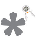 Fiskars - Squeeze Punch - Large - In Bloom