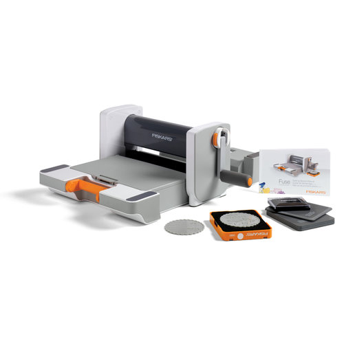 Fiskars - Fuse Creativity System - Die Cutting and Letterpress Machine - Starter Set