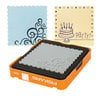 Fiskars - Fuse Creativity System - Die Cutting Design Set - Medium - Complex Pattern - Scalloped Square