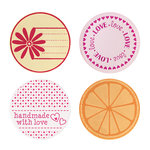 Fiskars - Fuse Creativity System - Die Cutting Design Set - Plate Expansion Pack - Medium - Circle