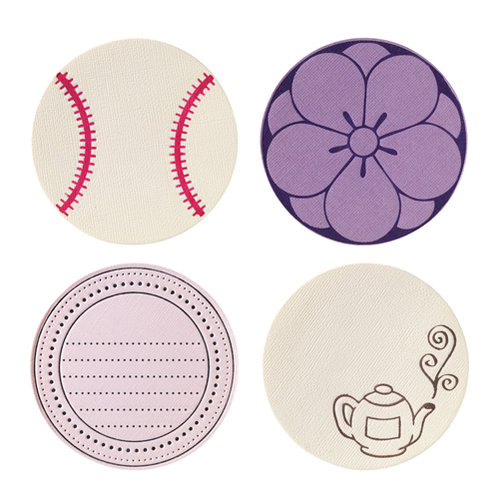 Fiskars - Fuse Creativity System - Die Cutting Design Set - Plate Expansion Pack - Medium - Circle 2