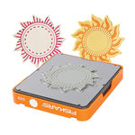 Fiskars - Fuse Creativity System - Die Cutting Design Set - Photo-etched - Medium - Sun