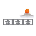 Fiskars - Interchangeable Border Punch - Starter Set - Daisy Chain