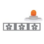 Fiskars - Small AdvantEdge Punch System Starter Set - Daisy Chain