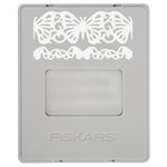 Fiskars - AdvantEdge Punch System - Interchangeable Border Punch - Cartridge - Large - Butterfly Lace