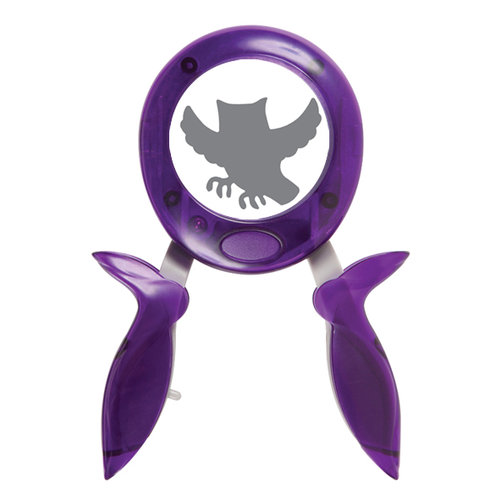 Fiskars - Halloween - Squeeze Punch - Large - Owl Be Seeing You