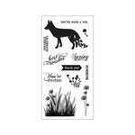 Fiskars - Clear Acrylic Stamps - What A Fox