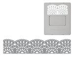 Fiskars - AdvantEdge Punch System - Interchangeable Border Punch - Cartridge - Antique Lace