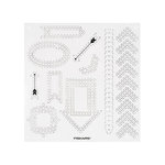 Fiskars - Paper Piercing - Stencil - Arrows