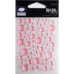 Fiskars - Cloud 9 Design - Stickers - Rain Dots - Peony, CLEARANCE