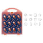 Fiskars - Pop-Up Punch Set - 12 Piece with Storage Case - Small, CLEARANCE