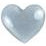Fiskars - Cloud 9 Design - Stickers - Rain Dots - Heart - Silver, CLEARANCE