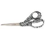 Fiskars - Premier 8 Inch Bent Scissors - Zebra