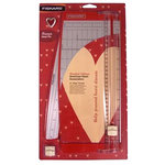 Fiskars - Limited Edition American Heart Association - 12 Inch Paper Trimmer with Bonus Heart Pin, CLEARANCE