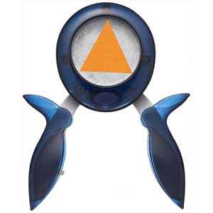 Fiskars - Squeeze Punch -  Large - Triangle - Nice Tri, CLEARANCE