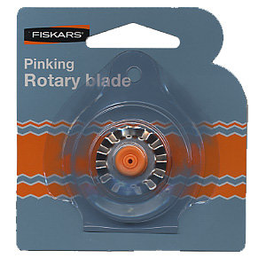 Fiskars - Desktop Rotary Pinking Blade - Blade Style F