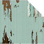 FabScraps - Shabby Chic Collection - 12 x 12 Double Sided Paper - Stitched