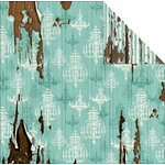 FabScraps - Shabby Chic Collection - 12 x 12 Double Sided Paper - Chandelier