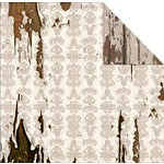 FabScraps - Shabby Chic Collection - 12 x 12 Double Sided Paper - Fleur