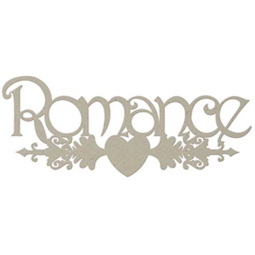 FabScraps - Classic Collection - Die Cut Words - Romance