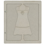 FabScraps - Organic Collection - Die Cut Albums - Apron