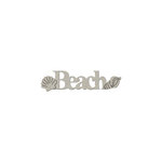 FabScraps - Summer Collection - Die Cut Words - Beach