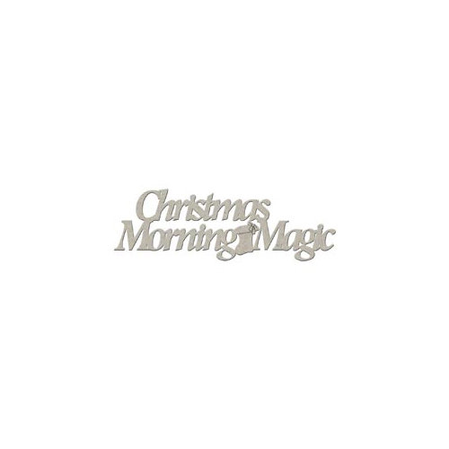 FabScraps - Christmas Collection - Die Cut Words - Christmas Morning Magic