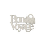 FabScraps - Romantic Travel Collection - Die Cut Words - Bon Voyage