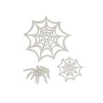 FabScraps - Little Peeps Collection - Die Cut Embellishments - Spider and Webs