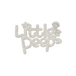 FabScraps - Little Peeps Collection - Die Cut Words - Little Peeps