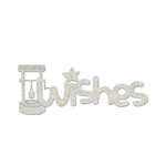 FabScraps - Little Peeps Collection - Die Cut Words - Wishes
