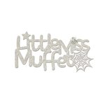 FabScraps - Little Peeps Collection - Die Cut Words - Little Miss Muffet