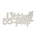 FabScraps - Little Peeps Collection - Die Cut Words - Little Bo-Peep