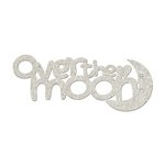 FabScraps - Little Peeps Collection - Die Cut Words - Over the Moon