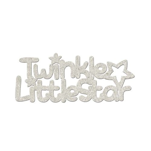 FabScraps - Little Peeps Collection - Die Cut Words - Twinkle Little Star