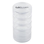 FabScraps - Storage - Stack Jar - Small - Set of Five