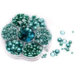 FabScraps - Pearls - Bling - Turquoise