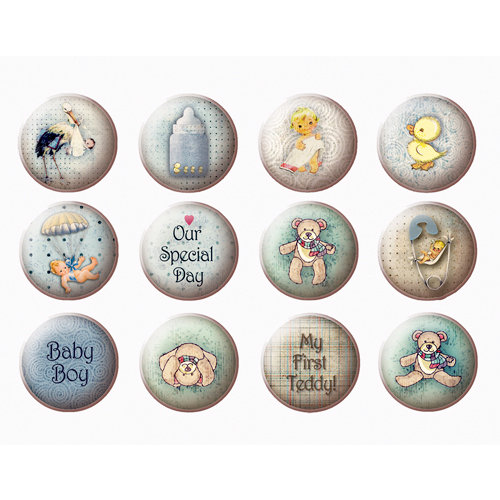 FabScraps - Vintage Baby Collection - Stickers - 4