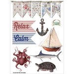 FabScraps - Beach Affair Collection - Vinyl Stickers - Pictures