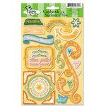 Flair Designs - Summer Daze Collection - Cardstock Stickers - Summer Daze, CLEARANCE