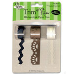 Flair Designs - Trim with Flair - Self Adhesive Paper Trim - The Basics