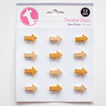 Freckled Fawn - Dew Drops - Glitter Arrow Stickers